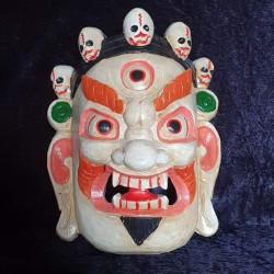 Masque tibétain Mahakala