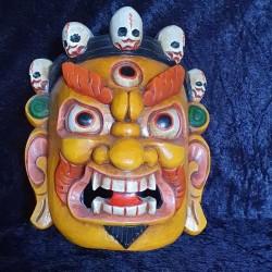 Masque Mahakala du Tibet