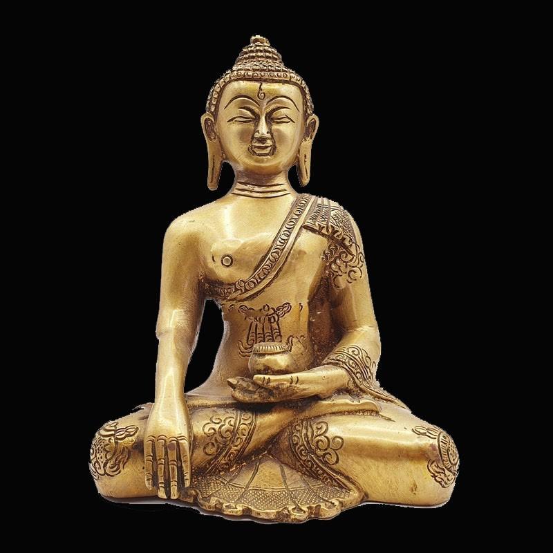 Statue de Bouddha Bhūmisparśa-mudrā
