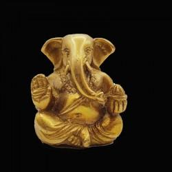 Statuette du dieu Ganesh en laiton