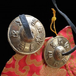 Tingshas 5 métaux 70 mm référence TD3