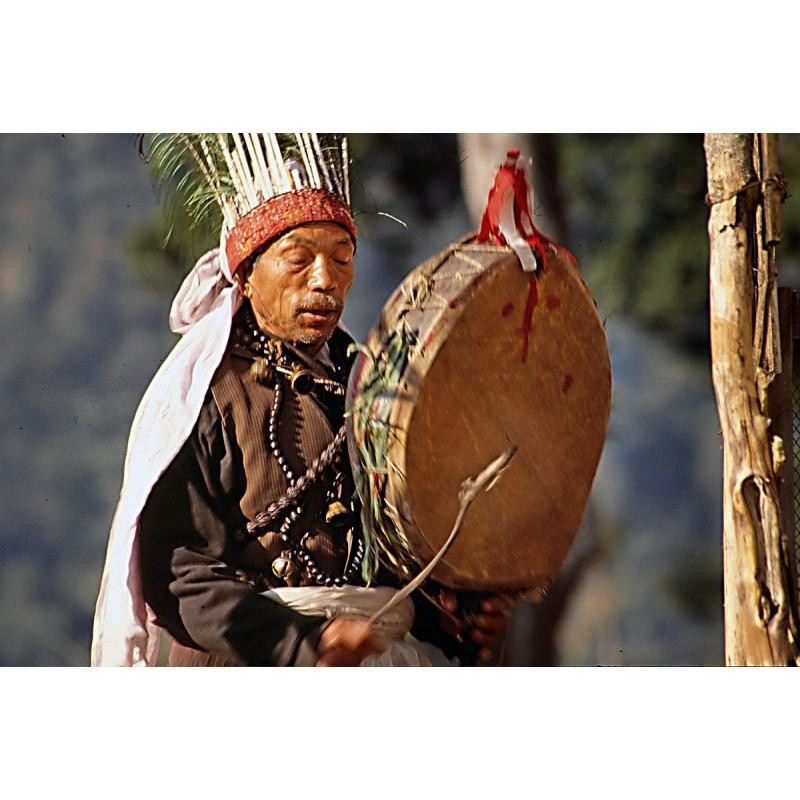 Tambour de chamane du Népal