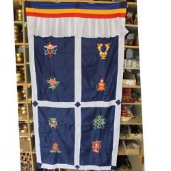 Tenture de porte tibétaine