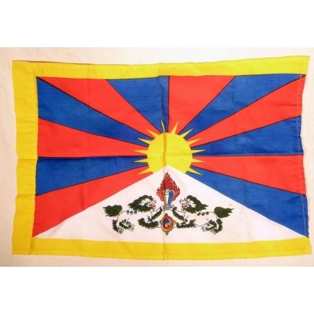 Les drapeaux tibétains