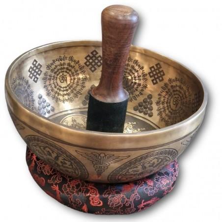 Bol tibétain d'artiste