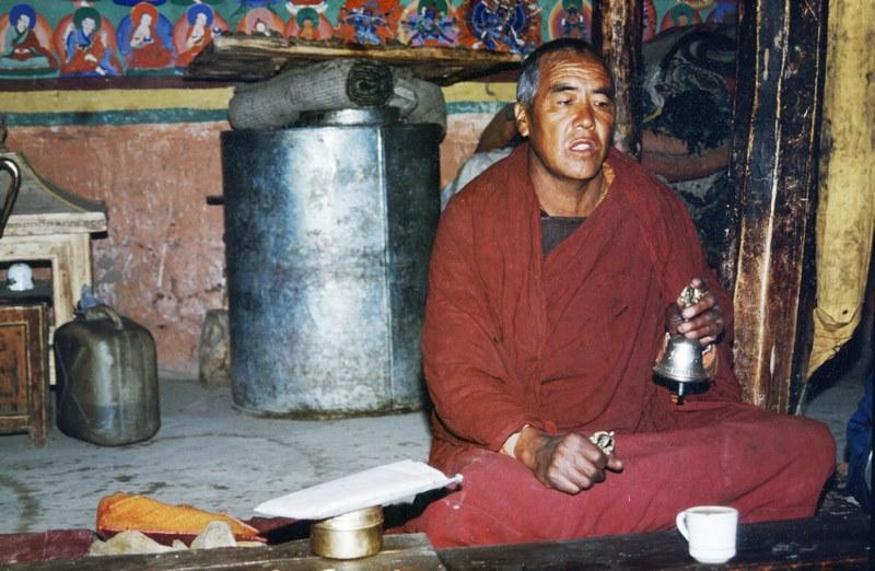 cloche tibétaine et son dorje